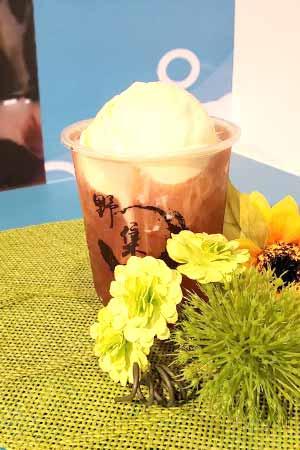 アイスクリーム紅茶